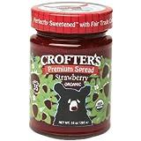 Crofter's Organic - Premium Spread Organic Strawberry - 10 oz. CLEARANCE PRICED