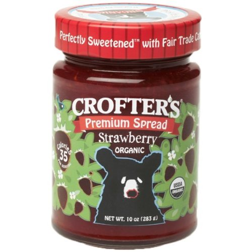 Crofter's Organic - Premium Spread Organic Strawberry - 10 oz. CLEARANCE PRICED by Crofters (Image #1)