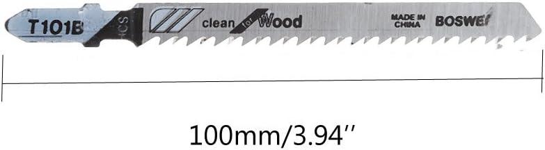 siwetg T101B HCS Lot de 5 Lames de scie en T 100 mm
