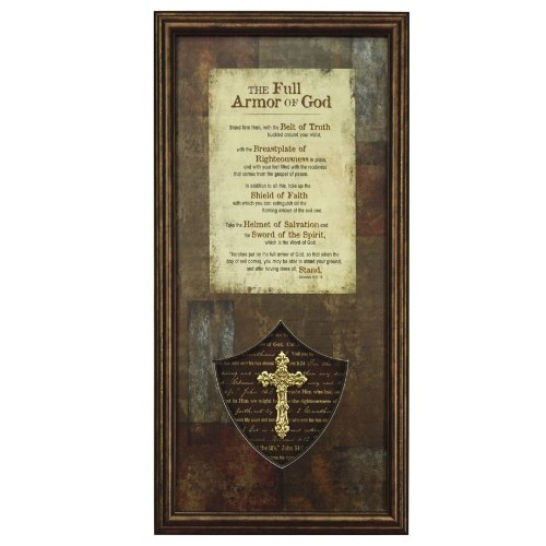 Carpentree-The-Full-Armor-of-God-Framed-Art-7-by-13-by-1-Inch