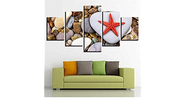 Pintura HD Moderno Modular Art Print 5 Piece Image Home Decor Wall ...