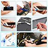 AUTOXEL Pro Tech Toolkit, Precision Screwdriver Set Magnetic Repair Tool kit 85 Pcs with Portable Bag for Laptop, Electronics, Smartphone, Computer & Tablet Repair
