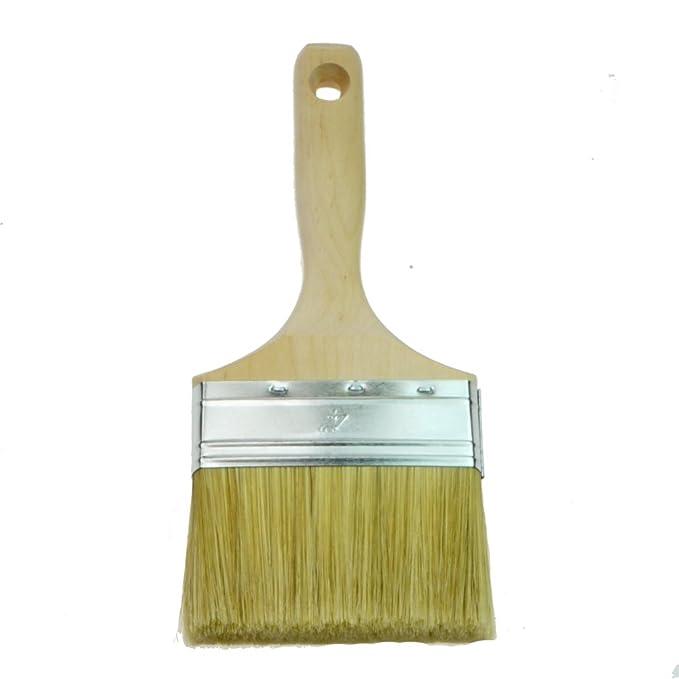 Rotix-91529/Pinceau plat 100/mm poils clairs 6//Épaisseur qualit/é artisanale