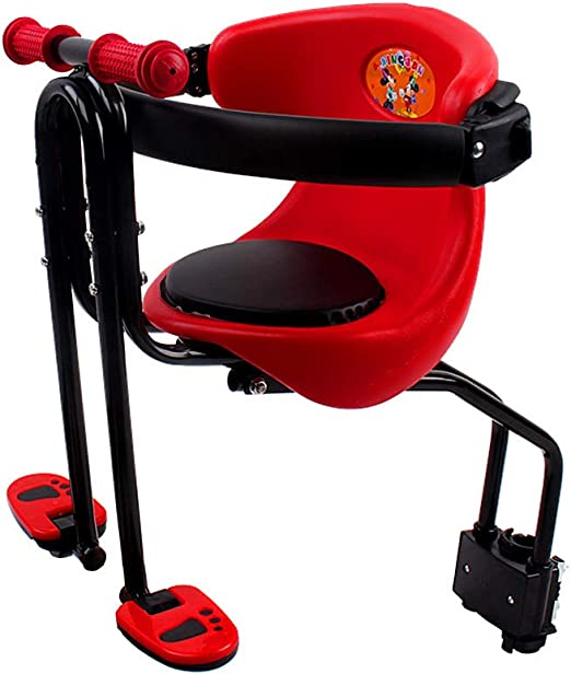 Deluxe Child Bike Seat Front Mounting Bicycle Saddle Baby Carrier Safety Cushion