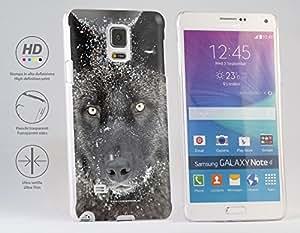 Funda Carcasa dura para Samsung Galaxy Note 4 - Lobo