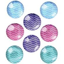 """Quartet Magnets for Dry Erase Board, Bulletin Board, 1"""" Multi-Color, 8 Pack (27953)"""
