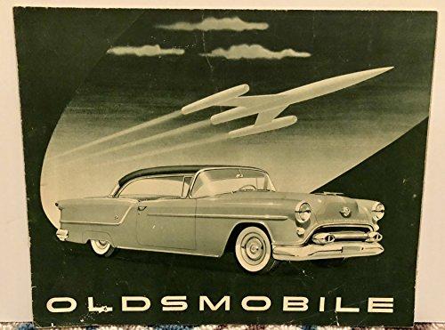 1954 Brochure (Vintage 1954 Oldsmobile Sales Brochure, Ninety-Eight, Eighty-Eight)