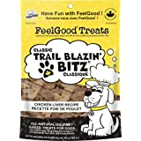 FeelGood Trail Blazing Bitz Classic Chicken Liver Recipe, 300gm Stand Up Pouch