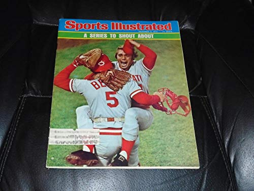 Johnny Bench Reds Mint - 1975 SPORTS ILLUSTRATED BASEBALL REDS JOHNNY BENCH WORLD SERIES ISSUE EX-MINT