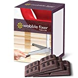 Shims by Wobble Fixer Metric USA Soft Furniture Levelers are Stackable and Customizable (Set of 12)