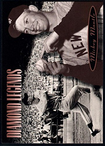 Baseball MLB 1994 Upper Deck All Time Heroes #168 Mickey Mantle LGD NM-MT Yankees ()