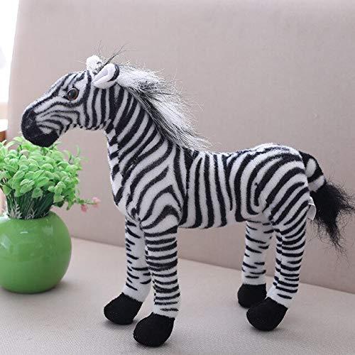 Plush Zebra Mascot Costumes - VIUPLUSH Millffy 1 Pcs Simulation Pony
