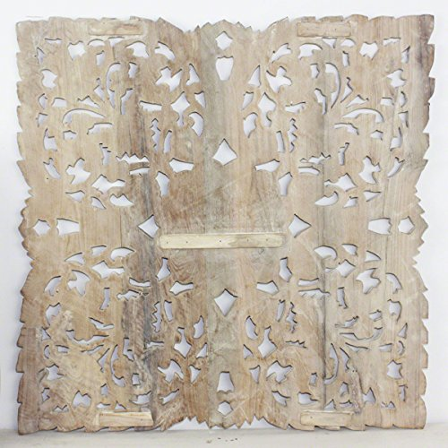 Haussmann Lotus Panel Inlay Square 60 cm H Sand Washed Review