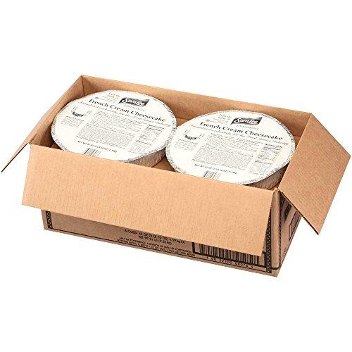 Sara Lee Round French Cream Shell Cheesecake, 10 inch - 8 per (Sara Lee Cheesecake)