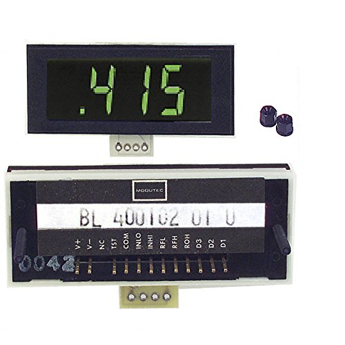 VOLTMETER 2VDC LCD PANEL MOUNT, (Pack of 1) (BL-400102-01-U)