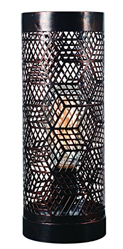 Table Uplight (Kenroy Home Rubik Uplight Accent Lamp)