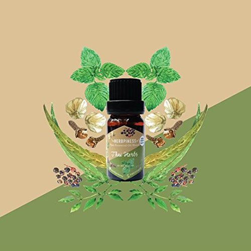infinity-aroma-spa-100-pure-essential-oil-blend-thai-herb-weight-10-ml