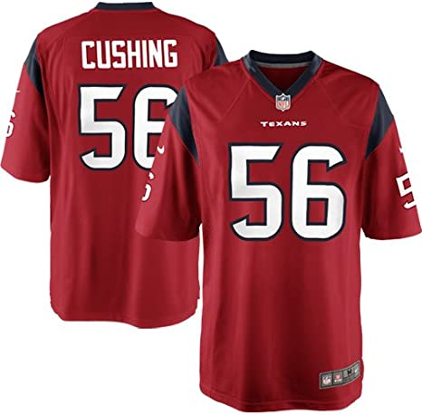 NIKE NFL Youth Houston Texans Brian Cushing # 56 Game Jersey, Red