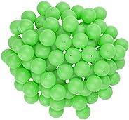 "Fairly Odd Novelties 3/4"" Mini Ping Pong/Table Tennis/Beer Pong Round Balls (100 Pack), 19mm,"