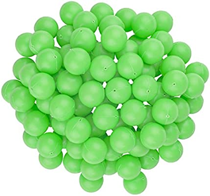 Bulk Pack of 144 ArtCreativity Plastic Table Tennis Balls Fun Carnival Games Supplies for Kids or Table Games Parties Mini 1.5 Inch White Tennis Balls for Goldfish Game Adults
