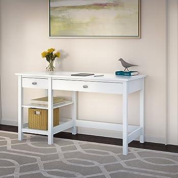 Amazon Com Home Styles 5530 16 Naples Student Desk White