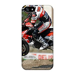 Cynthaskey Scratch-free Phone Case For Iphone 5/5s- Retail Packaging - Aprilia Sxv
