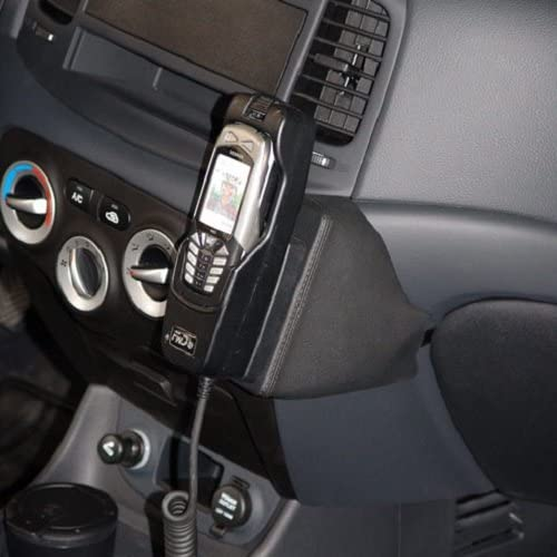 B001T1P2TI KUDA 041285 Leather Mount Black Compatible with Hyundai Accent (2007-2011) 51xFOb5amTL.