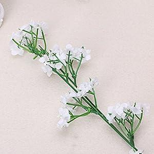 HoHome 1 Head Romantic Baby's Breath Gypsophila Silk Flower Party Wedding Home Decor 104
