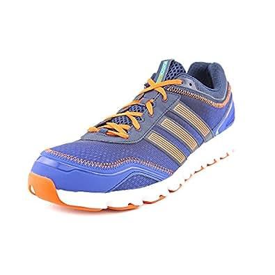Adidas Men's ClimaCool Modulation 2 Running Training Shoes-Blue/Orange-11.5