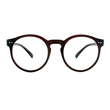 1920s Vintage Oliver rétro lunettes rondes 8241 Black cadres Classic Eyewear MADE IN KOREA 57ntdh