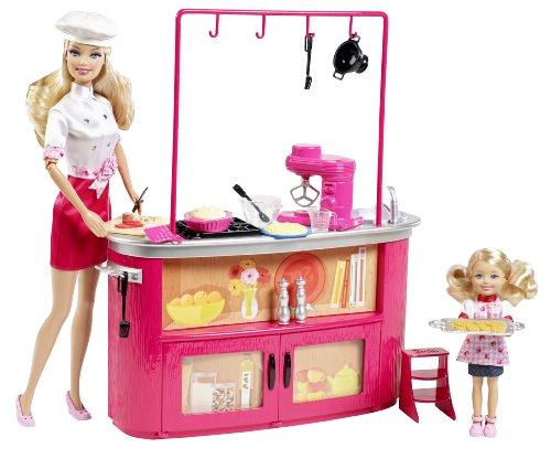 Barbie I Can Be Cooking Teacher Doll Playset (Barbie Doll Art Teacher)