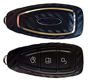 Carbon Fibre Vinyl Key Wrap Skin to fit Ford Keyless Go Focus Fiesta Mondeo Kuga ST RS Remote Key Fob Sticker by Ellis Graphix (Carbon Fibre)  sc 1 st  Amazon UK & Carbon Fibre Vinyl Key Wrap Skin to fit Ford Keyless Go Focus ... markmcfarlin.com