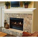 "Pearl Mantels 618-48 Crestwood Wall Shelf, 48"", White"