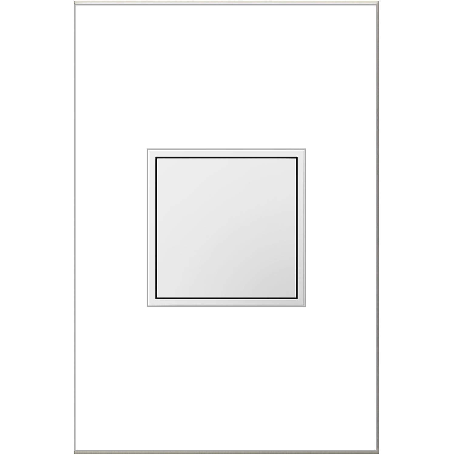 Legrand adorne 1-Gang Pop-Out Outlet in White With Matching Wall Plate, ARPTR151GW2WP by adorne