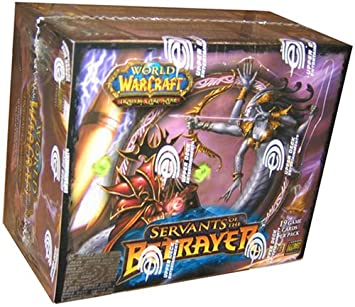 World of Warcraft (WoW) TCG: Servants of the Betrayer Booster Box (24