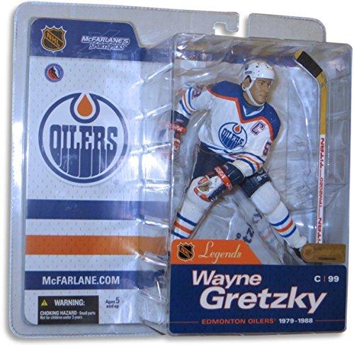 Wayne Gretzky McFarlane Legends Series 1 NIB Figure Oilers White Chase Variant