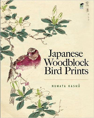 Japanese Woodblock Bird Prints by Kashu Numata (2011-10-28)