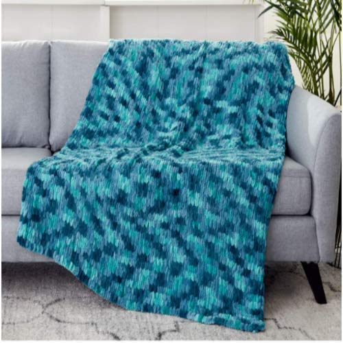 Image of Custom Order Handmade Knit Throw Blanket Home and Kitchen