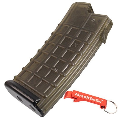 MAG 170rd AUG AEG Mid Cap Magazine for Airsoft Marui, Jing Gong, King Arms, CA [For Airsoft Only]