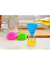 Win Bumud 3-Piece Food Grade Silicone Foldable Funnel for Liquid Transfer opportunity