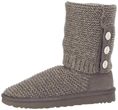 Purl Tricot Ugg1094949 Charbon Femme Cardy U4xW1dq