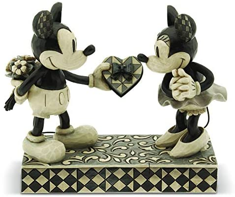 Disney Traditions Mickey Minnie Figurine