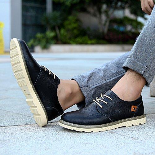 Salabobo - Zapatos Planos con Cordones hombre negro