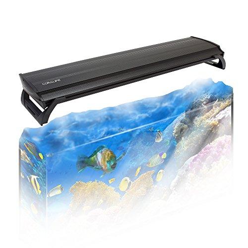 Coralife Dual Fixture High Output T5 Aquarium Light: Coralife 30″ Aquarium Light Aqualight High Output T5