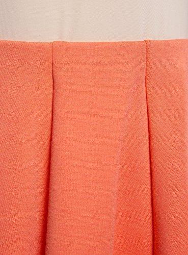 Donna Ultra Gonna Svasata Arancione in oodji Maglia 5500n RZqw5Wd