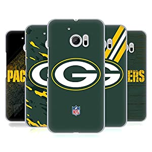 Official NFL Green Bay Packers Logo Hard Back Case for HTC 10
