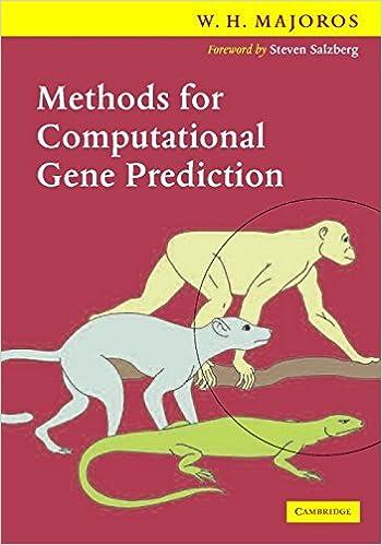 Notes on Methods for Computational Gene Prediction