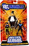 (US) DC Universe Justice League Unlimited Fan Collection Batgirl, Penguin & Nightwing Action Figures