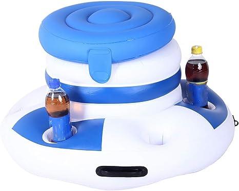 LCYCN Flotador Juguete Hinchable para Piscina,Bar Buffet de Servicio de Hielo Inflable, Cola de Bebida para la Piscina BBQ y Camping: Amazon.es: Deportes y aire libre