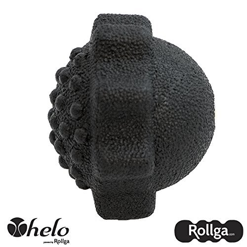 Massage Ball - Helo 3-in-1 Activator - Rollga - Lacrosse Ball for Massage, Grip Strength Recovery, Trigger Point Therapy, Muscle Knots, Spiky Ball, Fascial Ball & Myofascial Release Ball Recovery Activator